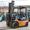 газ - бензиновий навантажувач Toyota 02- 7FG14 вантажопідйомністью 1, 35 тонни #1061623
