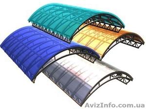 Сотовый поликарбонат с защитным слоем - Изображение #1, Объявление #402206