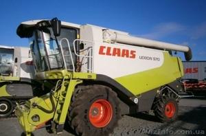 комбайн зерноуборочный Claas Lexion 570 .Год выпуска 2006 - Изображение #1, Объявление #994882