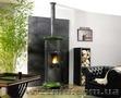 Длительное горение, отопление дома твердым топливом.