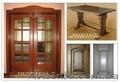 Реставрація дверей,  меблів,  сходів кухоних фасадів інших виробів.